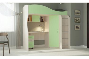 Кровать-чердак Буратино
